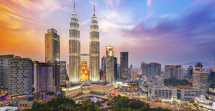 Vue sur la skyline de Kuala Lampur Malaisie (Istock)