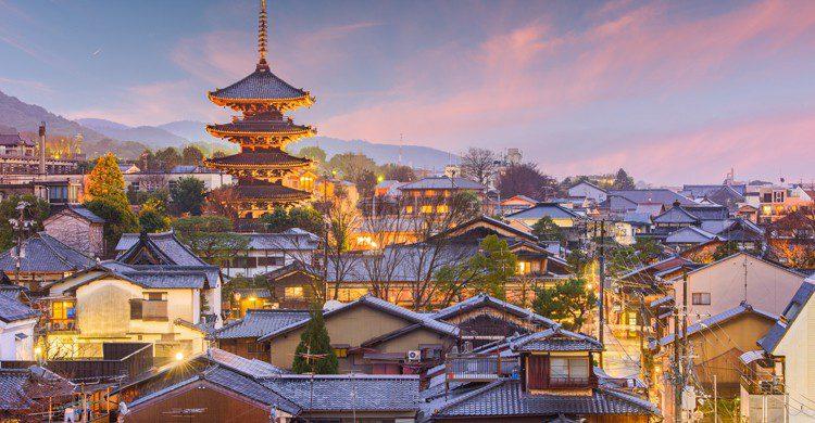 Vieille ville de Kyoto, Japon (Istock)