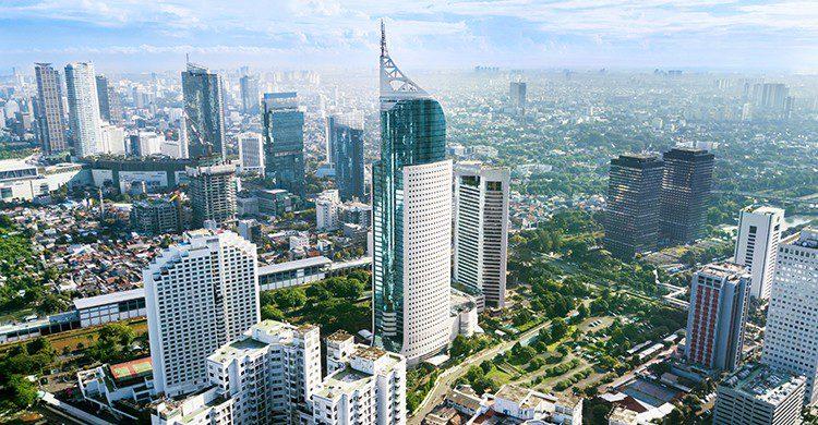 Vue sur la skyline de Jakarta en Indonésie (Istock)