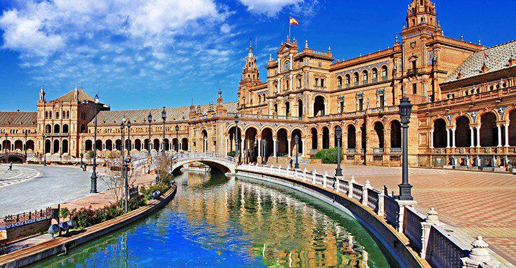 Plaza de España, Seville (Istock)