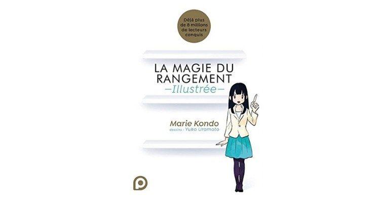 Livre sur La magie du rangement, Marie KONDO ( Amazon.fr)