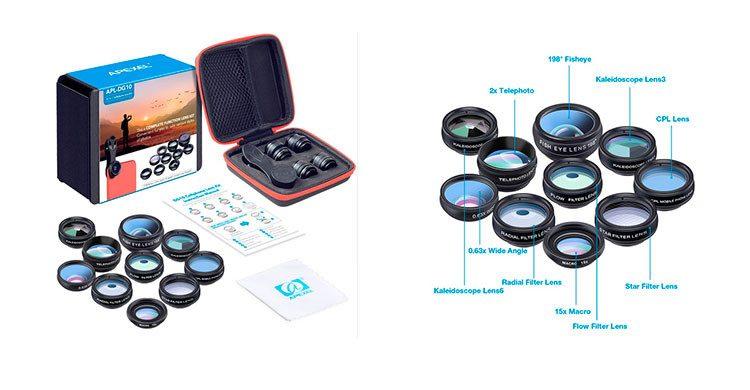 APEXEL 10in1 téléphone camera (Aliexpress.com)