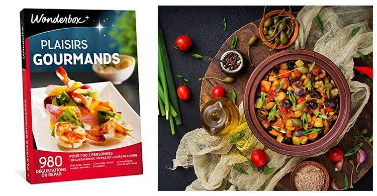 Wonderbox Plaiairs gourmands ( Amazon.fr- Istock)