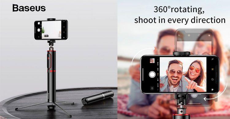 Trépied de caméra avec sans fil (Aliexpress.com)