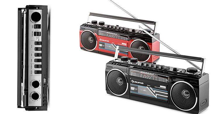 Auna Duke- Poste radio cassette (Amazon.fr)