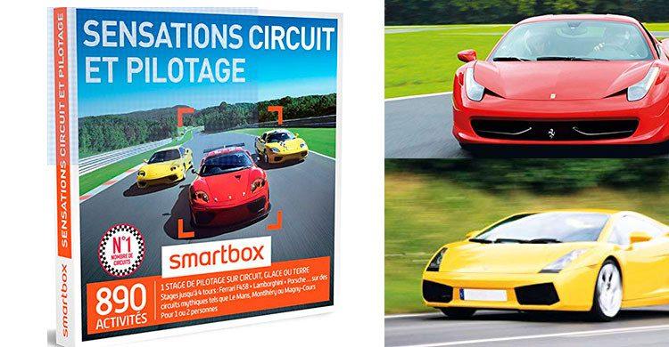 Smartbox Sensations circuits et pilotages (Amazon.fr)