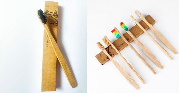 La brosse à dents en bambou (Aliexpress.fr)