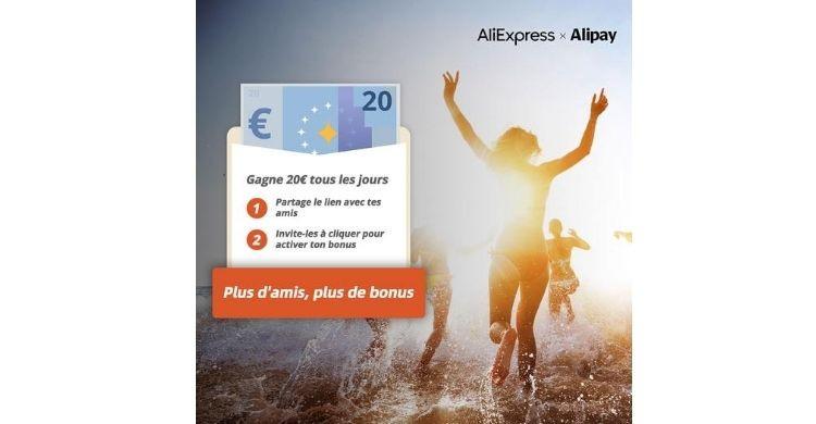 Bonus AliExpress Alipay